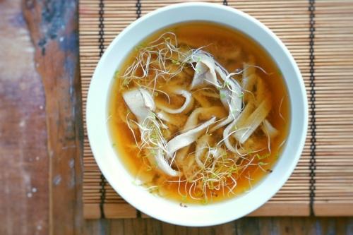 soba-noodles-miso-soup
