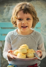 Maya's buttermilk scones